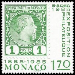 Timbre de Monaco N° 1456...