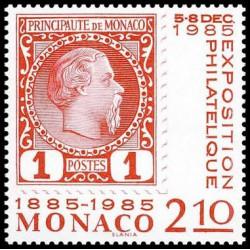 Timbre de Monaco N° 1457...