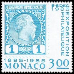 Timbre de Monaco N° 1458...