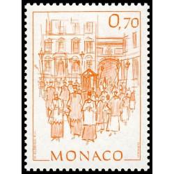 Timbre de Monaco N° 1512