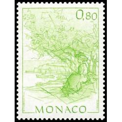 Timbre de Monaco N° 1513