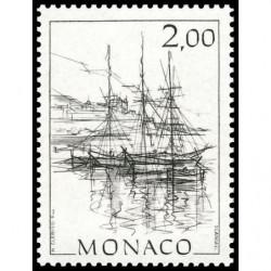 Timbre de Monaco N° 1516