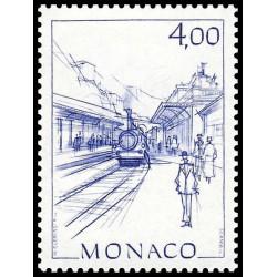 Timbre de Monaco N° 1517