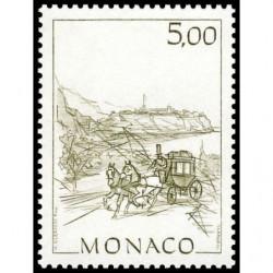 Timbre de Monaco N° 1518