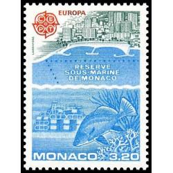 Timbre de Monaco N° 1521