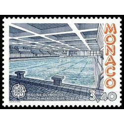 Timbre de Monaco N° 1566...