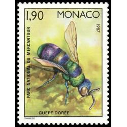 Timbre de Monaco N° 1568...