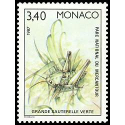 Timbre de Monaco N° 1572...