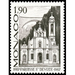 Timbre de Monaco N° 1573