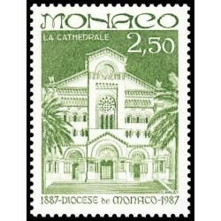 Timbre de Monaco N° 1574...