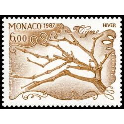 Timbre de Monaco N° 1584...