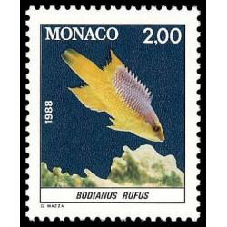 Timbre de Monaco N° 1615