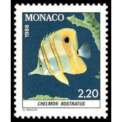 Timbre de Monaco N° 1616