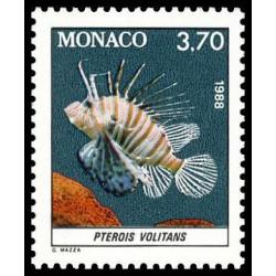 Timbre de Monaco N° 1619