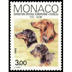 Timbre de Monaco N° 1624
