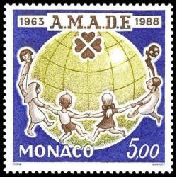 Timbre de Monaco N° 1625