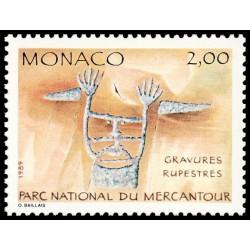 Timbre de Monaco N° 1663...