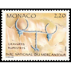 Timbre de Monaco N° 1664...