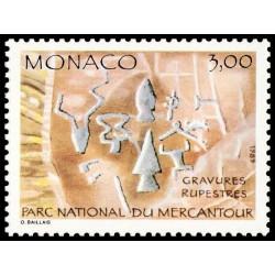 Timbre de Monaco N° 1665...