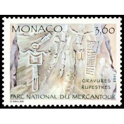 Timbre de Monaco N° 1666...
