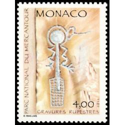 Timbre de Monaco N° 1667...