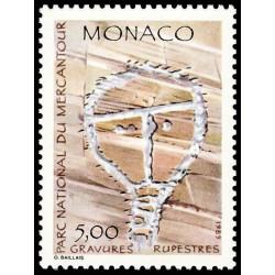 Timbre de Monaco N° 1668...