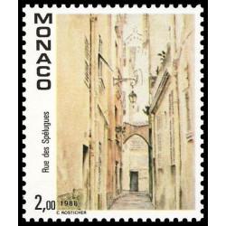 Timbre de Monaco N° 1669...
