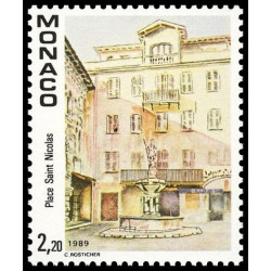 Timbre de Monaco N° 1670...