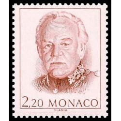 Timbre de Monaco N° 1672...
