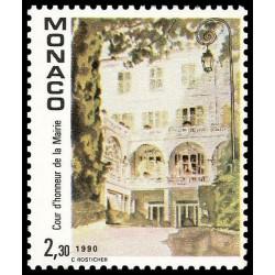 Timbre de Monaco N° 1709