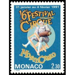 Timbre de Monaco N° 1753...