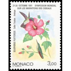 Timbre de Monaco N° 1755...