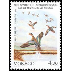 Timbre de Monaco N° 1756...