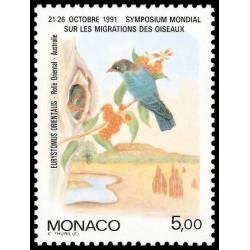 Timbre de Monaco N° 1757...