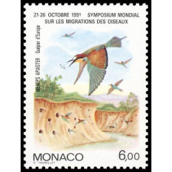 Timbre de Monaco N° 1758...