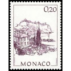 Timbre de Monaco N° 1762...