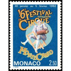 Timbre de Monaco N° 1810...