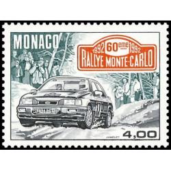 Timbre de Monaco N° 1816...