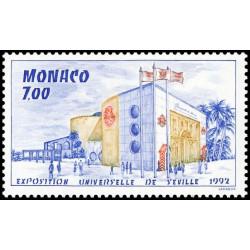 Timbre de Monaco N° 1828...