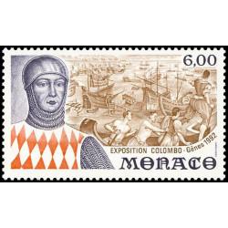 Timbre de Monaco N° 1829...