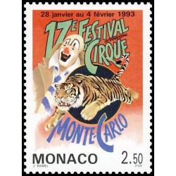 Timbre de Monaco N° 1854...