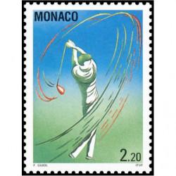 Timbre de Monaco N° 1873...