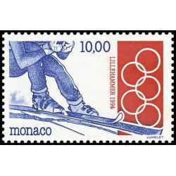 Timbre de Monaco N° 1924