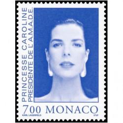Timbre de Monaco N° 1984...