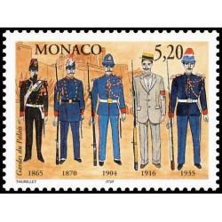 Timbre de Monaco N° 2109...