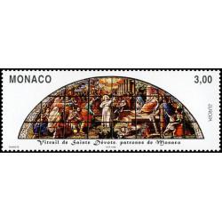 Timbre de Monaco N° 2152