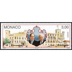 Timbre de Monaco N° 2153