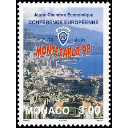 Timbre de Monaco N° 2157