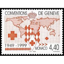 Timbre de Monaco N° 2188...