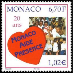 Timbre de Monaco N° 2191...